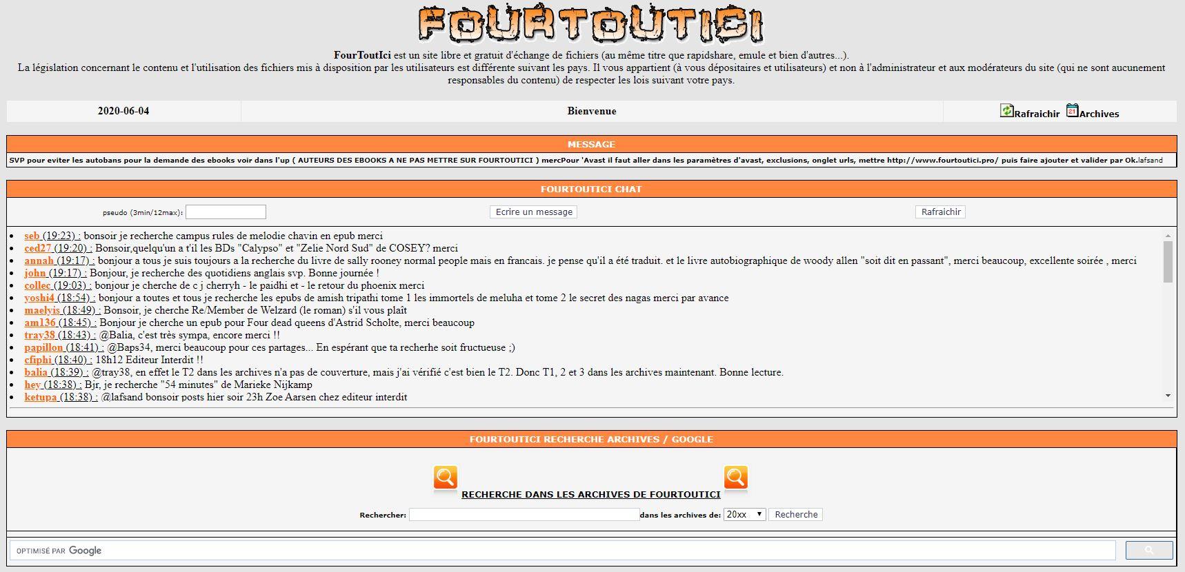 Fourtoutici : le paradis des lecteurs mais attention !